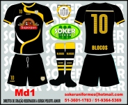 Soker Uniformes - BLOCOS-MD1