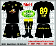 Soker Uniformes -  RACING 2015-MD1.