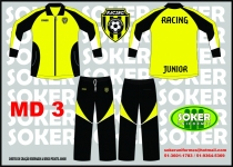 Soker Uniformes -  RACING MD3