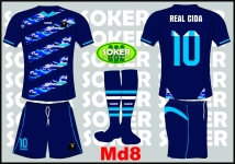 Soker Uniformes - REAL CIDA-MD8