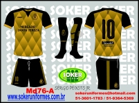 Soker Uniformes - REAL FAMILIA F.C.-CAMISETA MD76-A