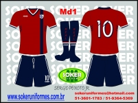 Soker Uniformes - REAL FLAIR PLAY-MD1