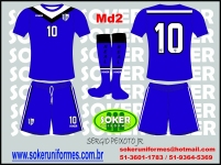 Soker Uniformes -  REAL FLAIR PLAY-MD2
