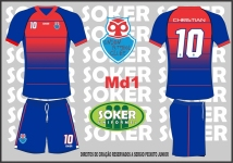 Soker Uniformes - UNION FC-MD1